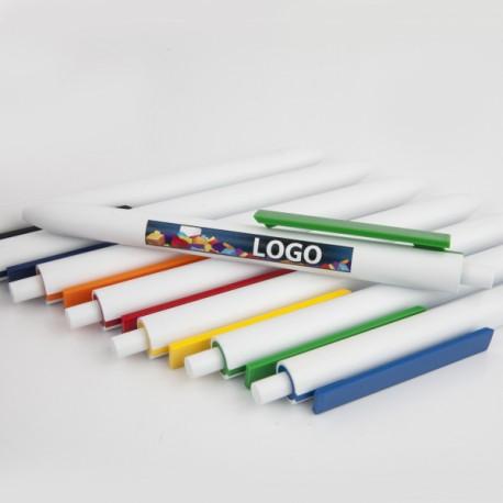 Długopis Comet White UV 100szt