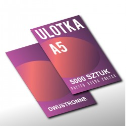 Ulotka A5 EKO - 5000szt - Druk 4/4