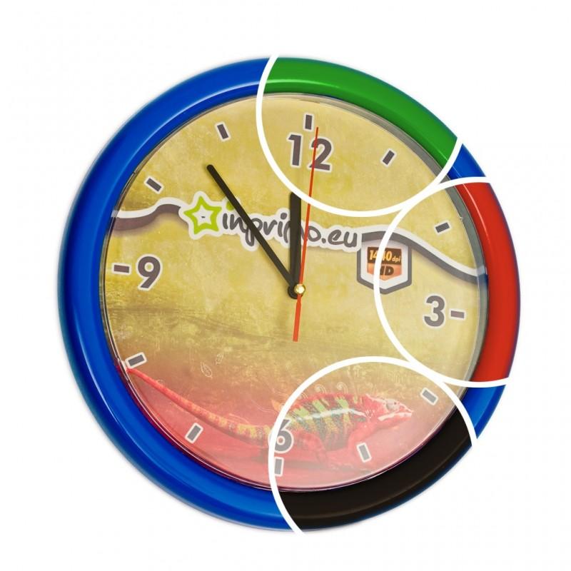 Zegar Plastikowy 5szt